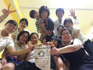 赤ちゃん、学生、お母さんメンバー